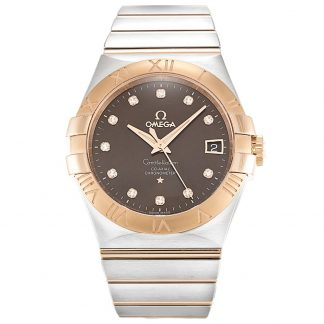 Omega Constellation replica orologi Men Acciaio inossidabile 316 123.20.35.20.63.001